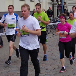 24. Nordea Riia maraton - Mari Rantanen (805), Aleksis Ozoliņš (3892)