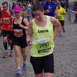24. Nordea Riia maraton - Uladzimir Anokhin (855), Sintija Rudzīte (1293), Aigars Sildars (2518), Emma Gallagher (2893)