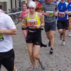 24. Nordea Riia maraton - Ieva Kušnere (513), Gaidis Balodis (1329)