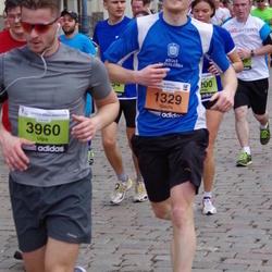 24. Nordea Riia maraton - Gaidis Balodis (1329), Uģis Nēliuss (3960)