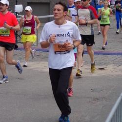 24. Nordea Riia maraton - Andris Osmanis (598), Zane Rambaka (3764), Andris Volkops (5276)