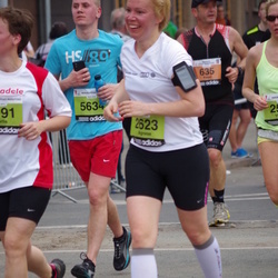 24. Nordea Riia maraton - Pawel Orzechowski (635), Agnese Fogele (2623), Lauris Šulmeisters (5634)