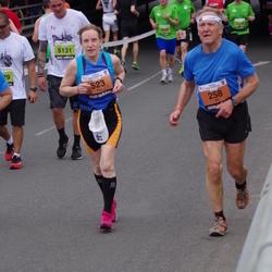 24. Nordea Riia maraton - Alf Cederlund (258), Eija Kuittinen (523)