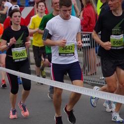 24. Nordea Riia maraton - Simas Rudys (3642), Evita Vēvere (5500), Ģirts Vēvers (5501)