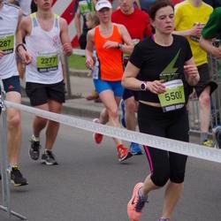24. Nordea Riia maraton - Dāvis Peterkops (2277), Evita Vēvere (5500)