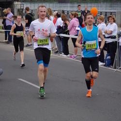 24. Nordea Riia maraton - Gatis Pūcītis (2311), Aigars Straubergs (2974)