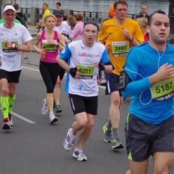 24. Nordea Riia maraton - Olev Vahemaa (2006), Sergejs Bednostins (2493), Agnese Jaundzema (5087), Rolands Ostrovskis (5187), Ojārs Lagzdiņš (5251)