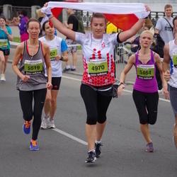 24. Nordea Riia maraton - Patrycja Imiełowska (4970), Agnese Laktiņa (5464), Ilze Začeste Začeste (5519)