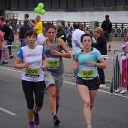 24. Nordea Riia maraton - Iana Myroniak (3400), Agnese Fernāte (4618), Ieva Micpapa (5370)