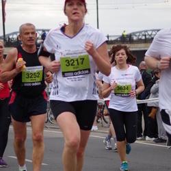 24. Nordea Riia maraton - Elin Magnusson (3217), Māris Reinbergs (3252), Alina Skangale (3634)