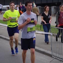 24. Nordea Riia maraton - Aigars Lībergs (85), Arnis Šinka (3741)