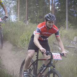 MySport MTB KAUSS 2014, 2. posms - Andris Jurka (554)