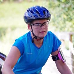 Cycling 45 km - Caroline Näsman (5148)