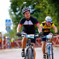 Cycling 45 km - Anna Karlsson (5495)