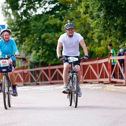 Cycling 45 km - Mona Andreasson (5822), Michael Andreasson (5823)