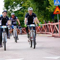 Cycling 45 km - Per Probeus (6117), Kajsa Probeus (6118)
