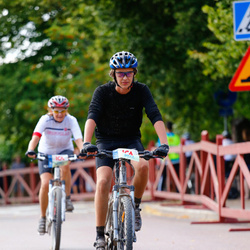 Cycling 45 km - Oskar Hallmans (6095)