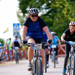 Cycling 45 km - Jennie Gustafsson (6017)
