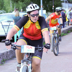 Cycling 45 km - Ann Selin (5410)