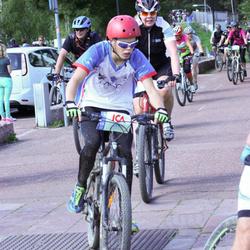 Cycling 45 km - Alfred Björklund (6557)