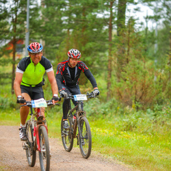 Cycling 95 km - Lasse Larsson (5159), Björn Ingmar (5334)