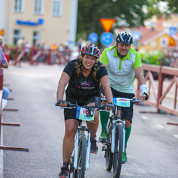 Cycling 45 km - Mathias Westerling Jansson (5152), Madeleine Westerling (5153)