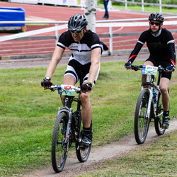 Cycling 95 km - Elton Elf (12412), Per-Anders Husberg (13196)