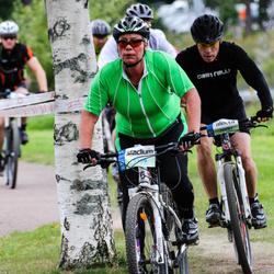 Cycling 95 km - Agneta Heidenback (9309), Stefan Andersson (11687)