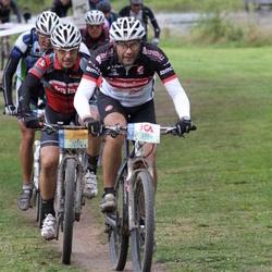 Cycling 95 km - Jesper Quattrini (3296), Anders Ahlstrand (3755)