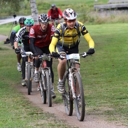 Cycling 95 km - Daniel Forsström (3703), Kennet Melin (3983)
