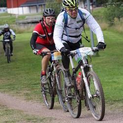 Cycling 95 km - Ståle Thoen Von Krogh (3043), Henrik Jacobson (3855)