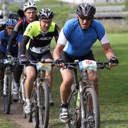 Cycling 95 km - Henrik Andersson (4820), Paul Jonasson (4876)
