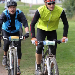 Cycling 95 km - Anders Bared (4595), Anders Näslund (4648)