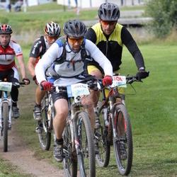 Cycling 95 km - Joakim Kivikoski (3617), Christer Daun (4691)