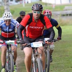 Cycling 95 km - Fredrik Danell (4882), Mats Abrahamsson (5448)