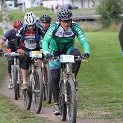 Cycling 95 km - Mats Lindström (4148), Christer Hedberg (5240)