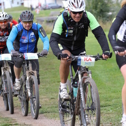 Cycling 95 km - Peter Svensson (5418), Åke Sahlin (5471)