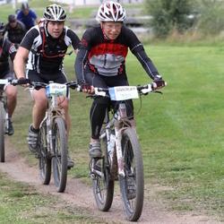 Cycling 95 km - Åsa Forsberg (5314), Peter Söderberg (6547)