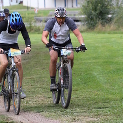 Cycling 95 km - Simon Mattsson (5544), Christian Persson (5600)