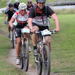 Cycling 95 km - Fredrik Norell (5537), Ulrica Johansson (5767)