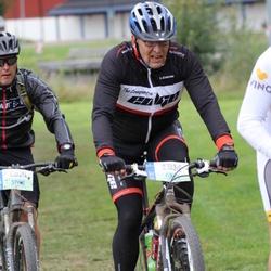 Cycling 95 km - Mikael Kolm (5708), Åke Falk (6363)