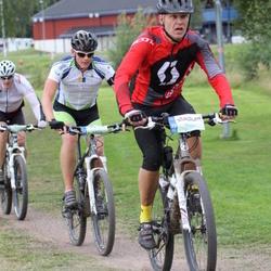 Cycling 95 km - Magnus Sundberg (6952), Anders Liden (7094)