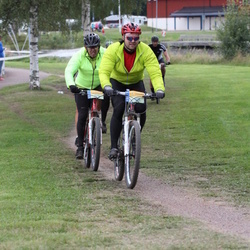 Cycling 95 km - Bror Persson (7410), Ronny Dønjar (7655)