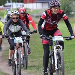Cycling 95 km - Cecilia Andersson (7074), Camilla Ling (7297)