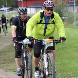 Cycling 95 km - Robert Lindvall (7291), Anders Ekeblad (8365)