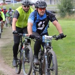Cycling 95 km - Åke Wisén (9689), Henrik Bergquist (9896)
