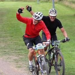 Cycling 95 km - Catrin Alfredsson (11542), Jonas Danils (11587)