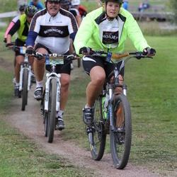 Cycling 95 km - Lars Melin (8760), Alexandra Ejenstam (9000)