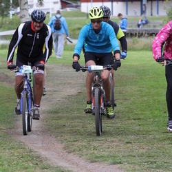 Cycling 95 km - Johan Hoffman (9048), Ali Nafar (12063)
