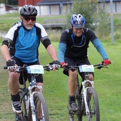 Cycling 95 km - Bo Ernst (9778), Magnus Josefsson (12782)